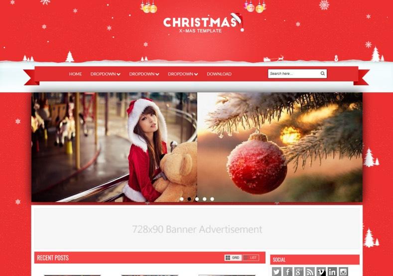 Christmas_Blogger_Template_2
