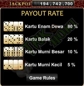 Bonus Jackpot dari Kartu Special Domino99