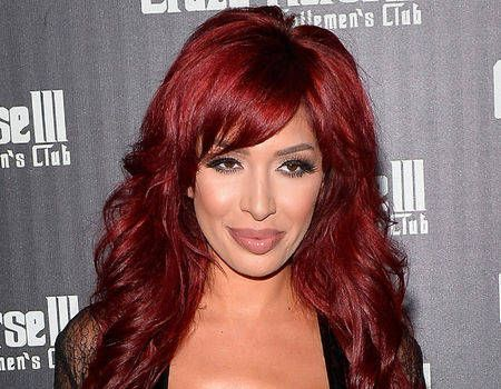 Farrah Abraham Rocks Completely Sheer Jumpsuit in Las Vegas