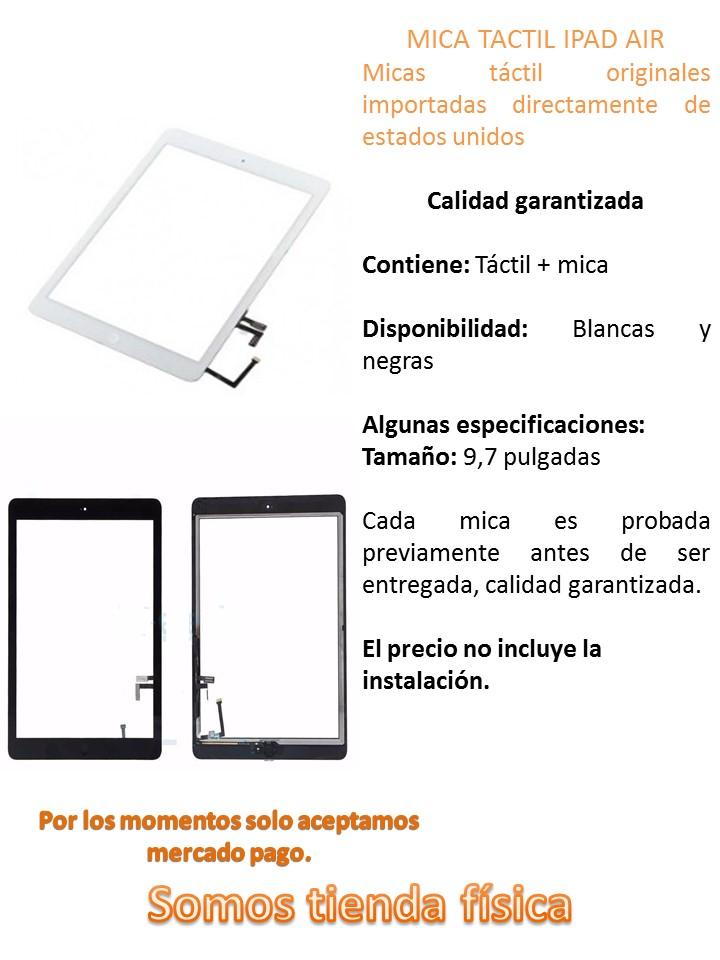 Tactil Digitizer Ipad Air