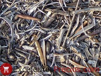 Cubierta vegetal olivar, restos de poda triturados