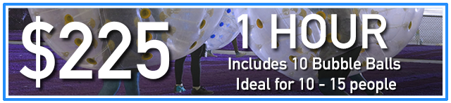 Cost of an hour of Bubble Soccer with AirballingLA, Prices of Bubble Soccer from AirballingLA