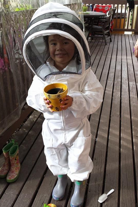 Childs Bee Suit 2