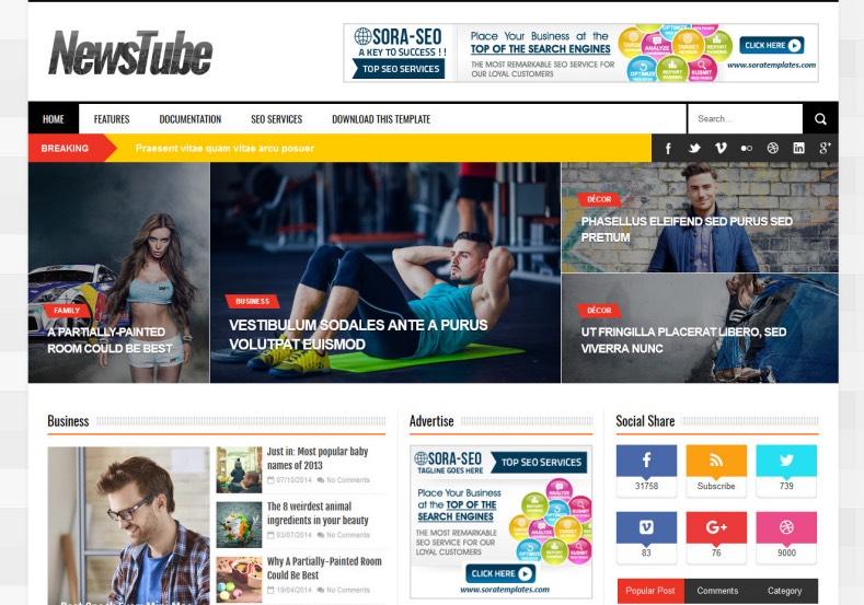 News_Tube_Blog_Template_2