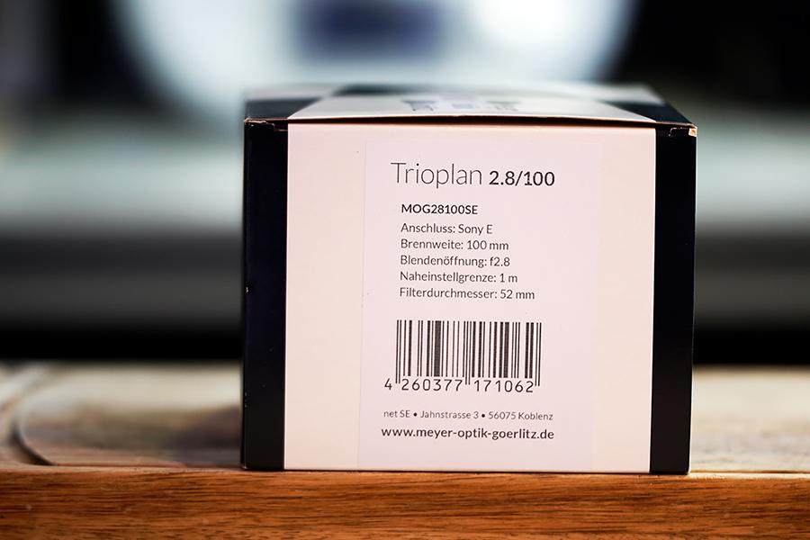 [Cancelado] Vendo Trioplan 100 f2.8 Montura Sony E en Camaras y ObjetivosDSC1464_900