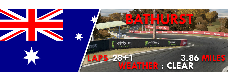 Round 5 - Bathurst - (Completed) BATHURST
