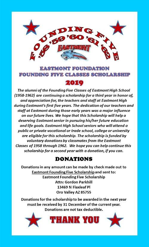 founding_five_scholarship_2019_announcemen_framed
