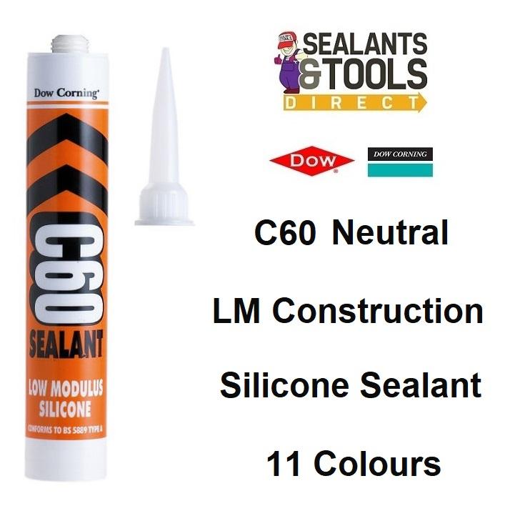 dow corning c60 11 colours silicone sealant
