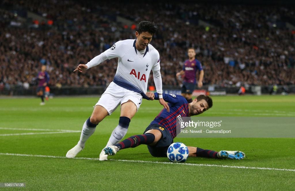 صور مباراة : توتنهام - برشلونة 2-4 ( 03-10-2018 )  2