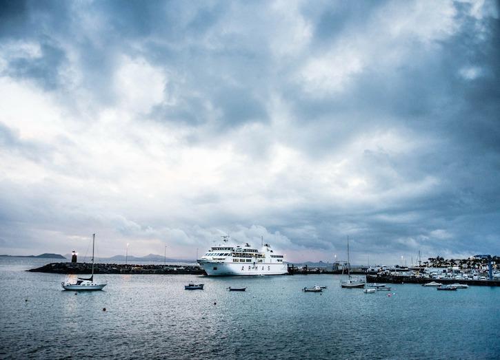 Playa Blanca Lanzarote harbour