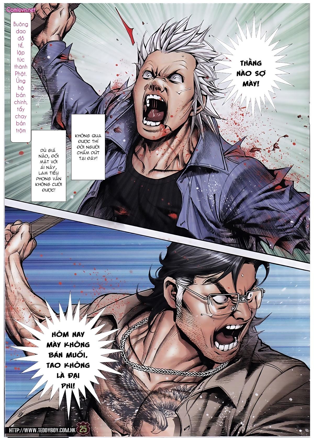 Người Trong Giang Hồ chapter 1963: đấu tử tử đấu trang 23