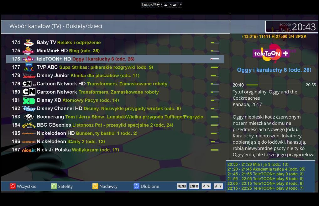 VU+Skin EasyLiteXTAFHD By-RAED image Open PLi 6