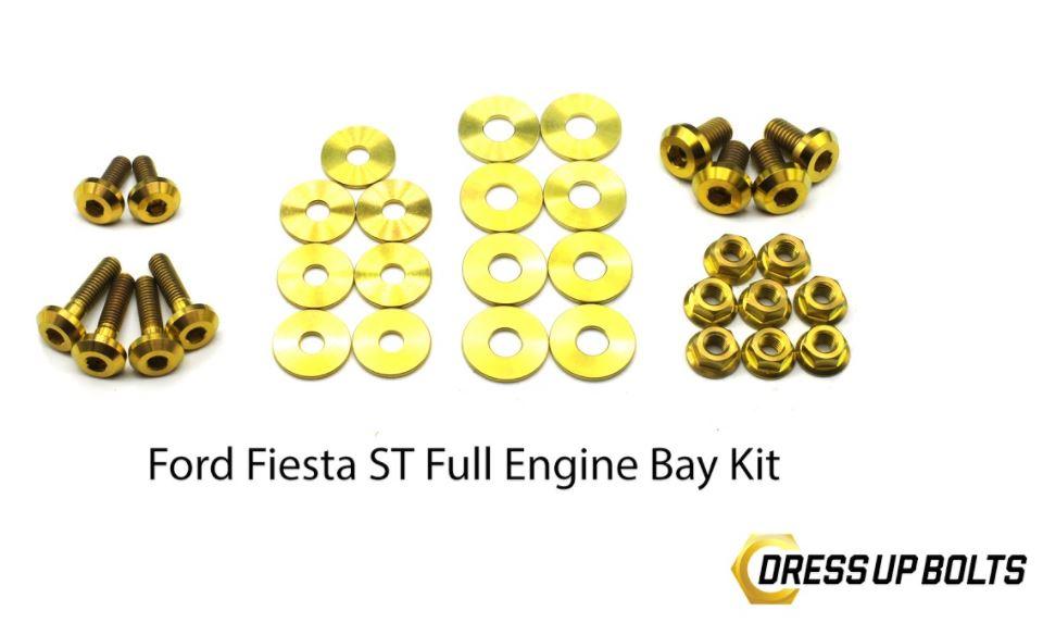 Dress Up Bolts Fiesta ST Titanium Engine Bay dress up bolt