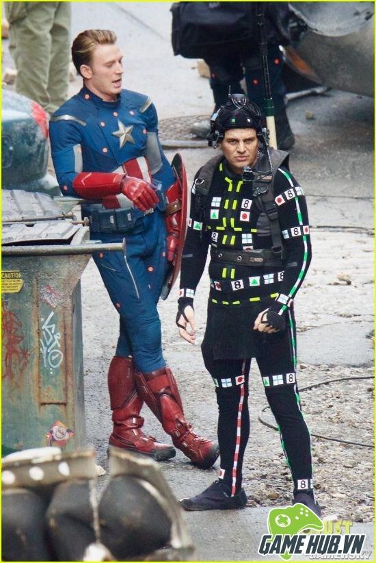 Khó đỡ với loạt biểu cảm của Captain America trên phim trường The Avengers 4 - ảnh 3