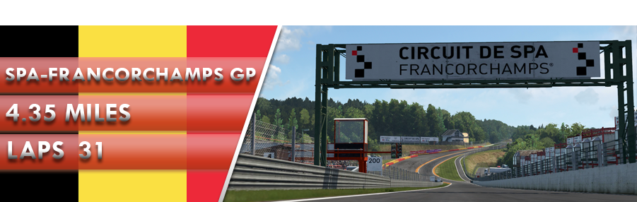 Round 2 - Spa-Francorchamps GP - Division 1&2 Sign In/Out SPa_IMage