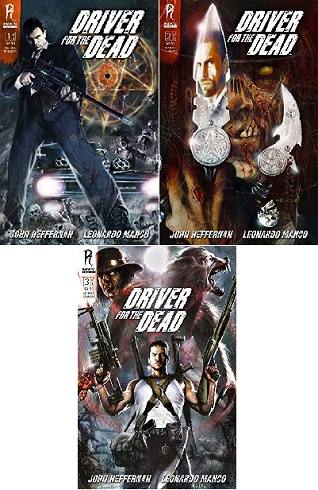 Driver for the dead (1-3) [Komplet] [KOMIKS PL]