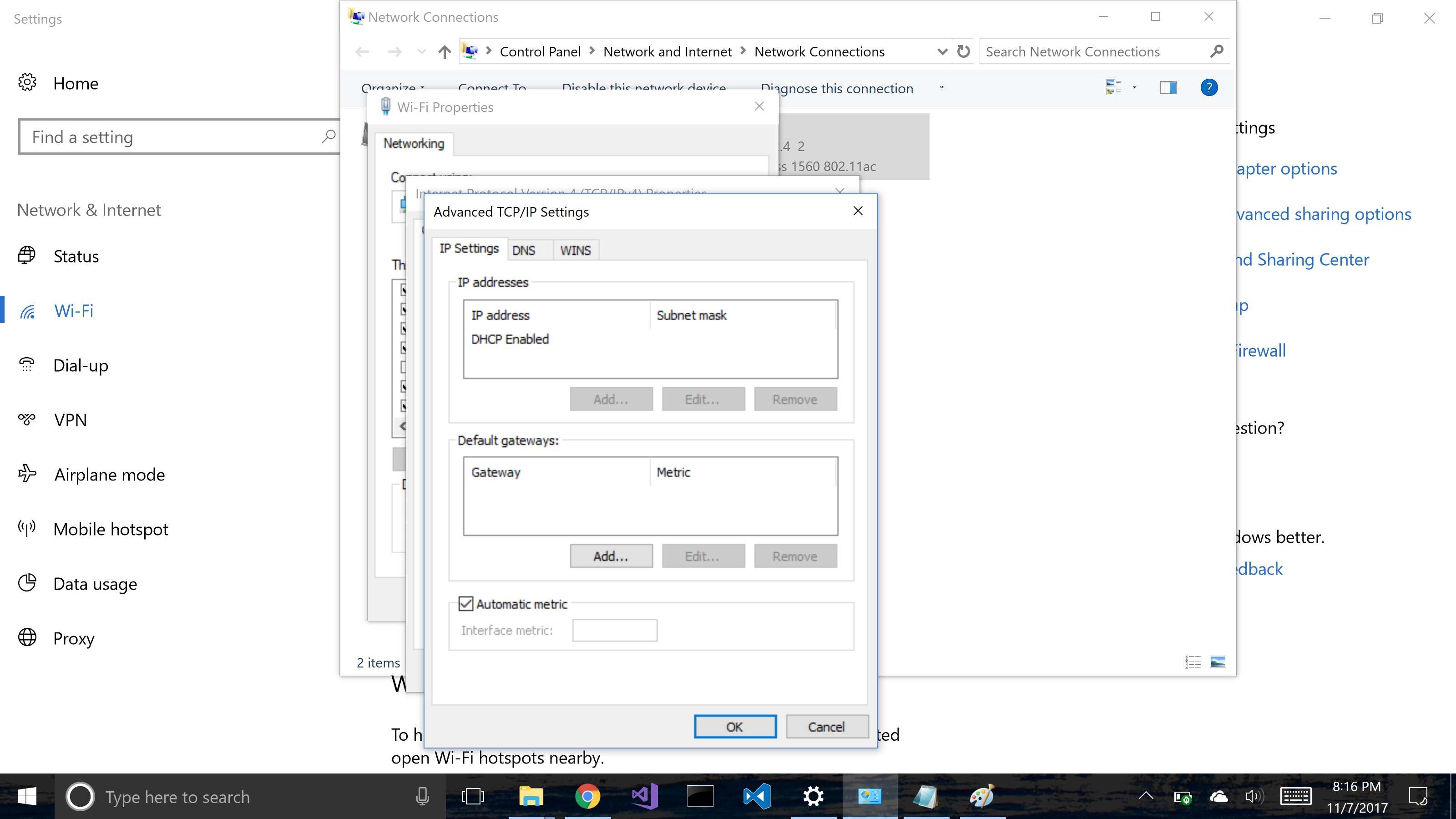 not able to turn on network discovery windows 10