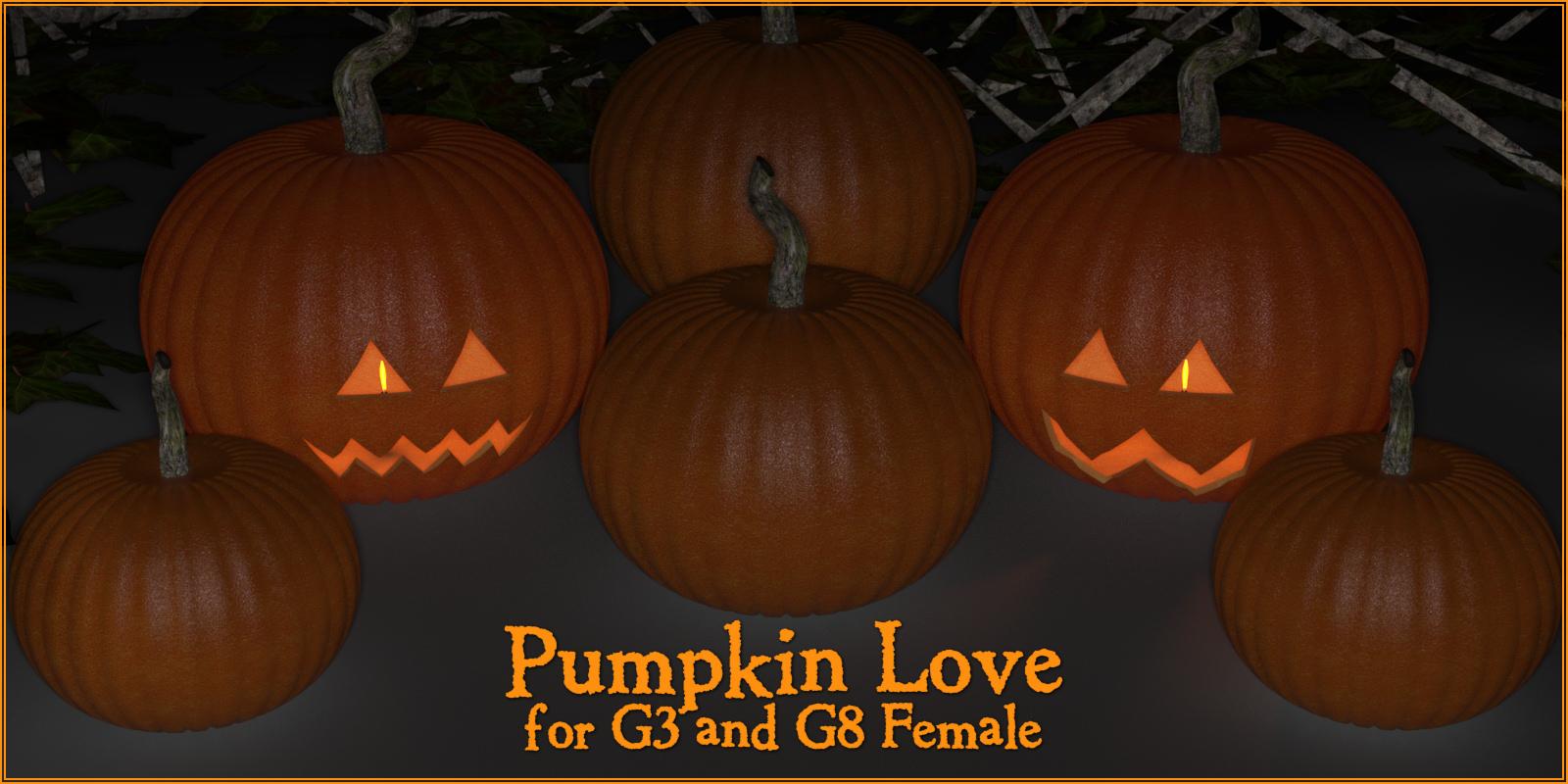Pumpkin Love G3F & G8F