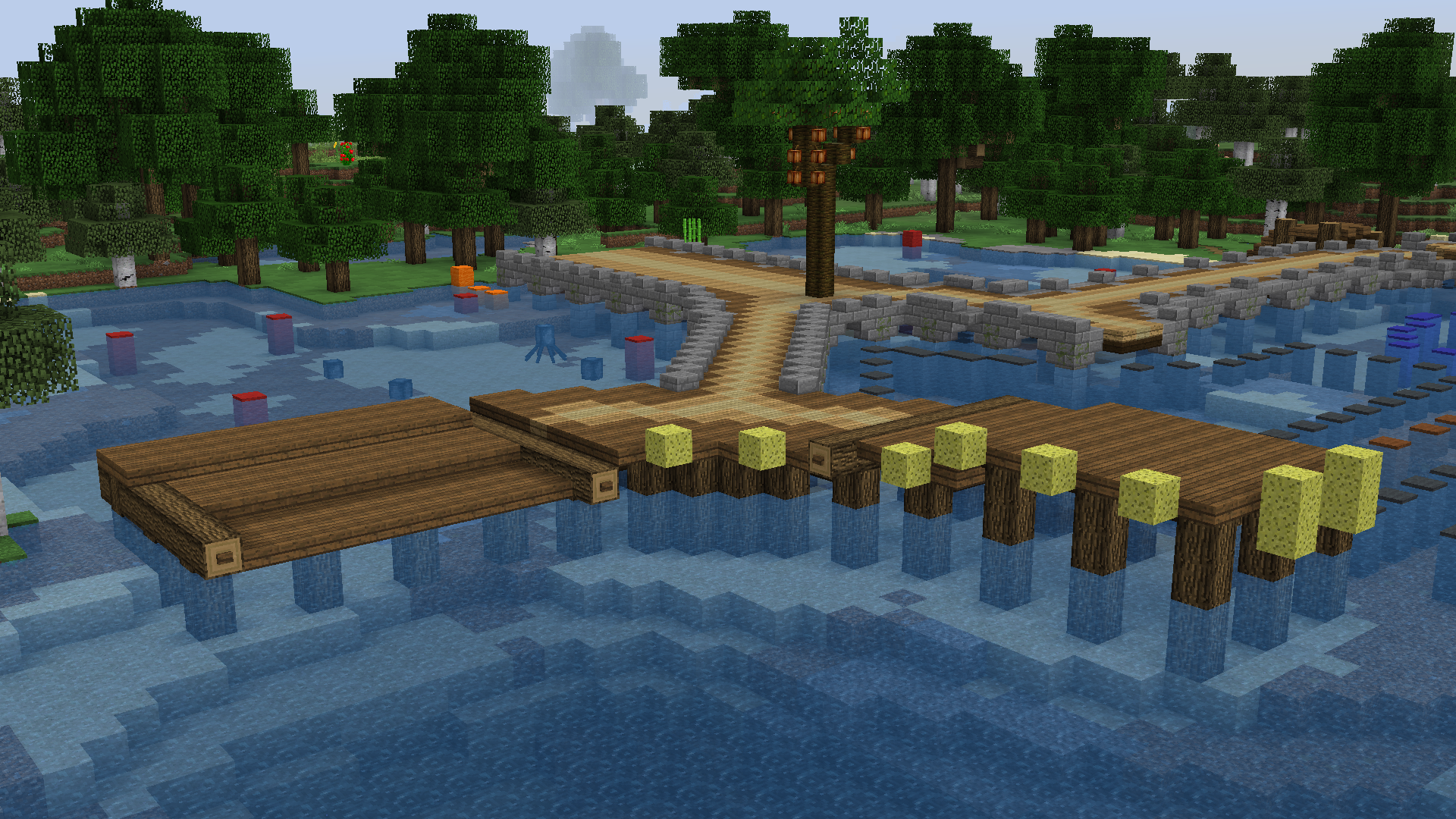 Larger docks