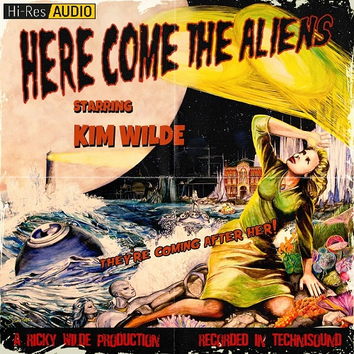 Kim Wilde - Here Come the Aliens (2018) [FLAC 44.1 kHz/24 Bit]