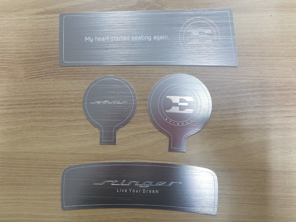 Kia Stinger Aluminum Console Cup Holder Inserts : cup holder plate - Pezcame.Com