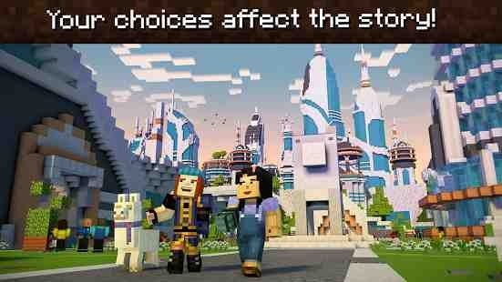 Minecraft: Story Mode - Season Two 1.02 (Retail & Unlocked) Apk + Data