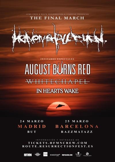 Route_Resurrection_2018_Heaven_Shall_Burn_August_Burns_Red_Whitechapel_Poster_1600x2261