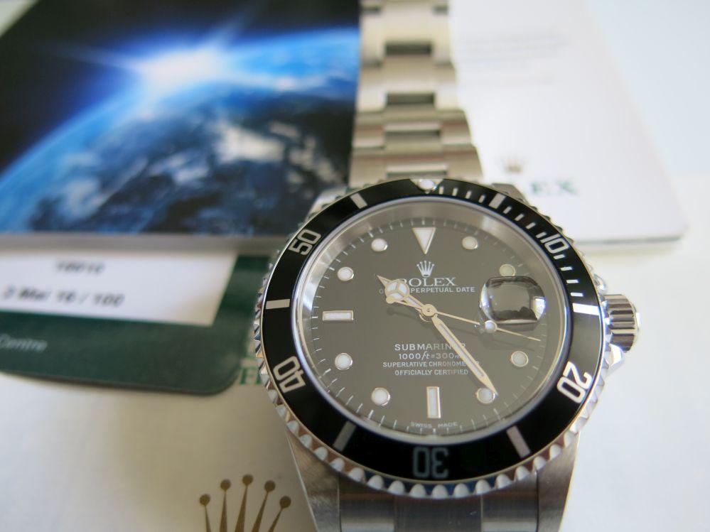 Rolex submariner date 01