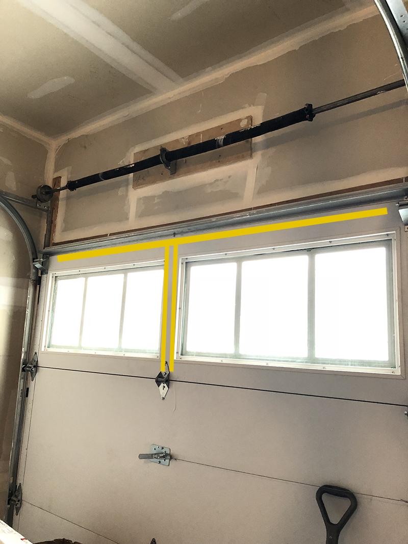 How To Reinforce This Garage Door For Opener General
