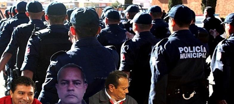 Los Tratados de Teoloyucan, Estado de México, un viacrucis para los policías locales
