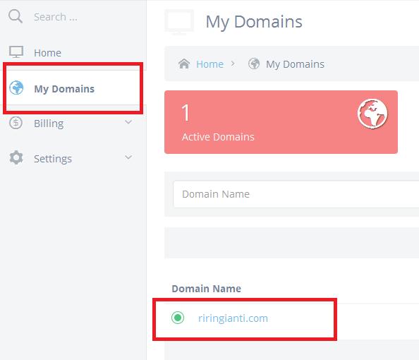 My Domain