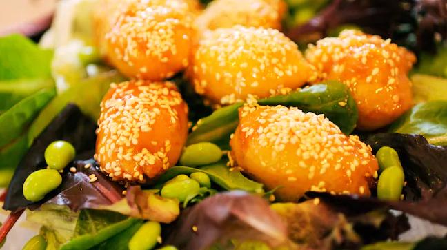Chinese food at Epcot Walt Disney World