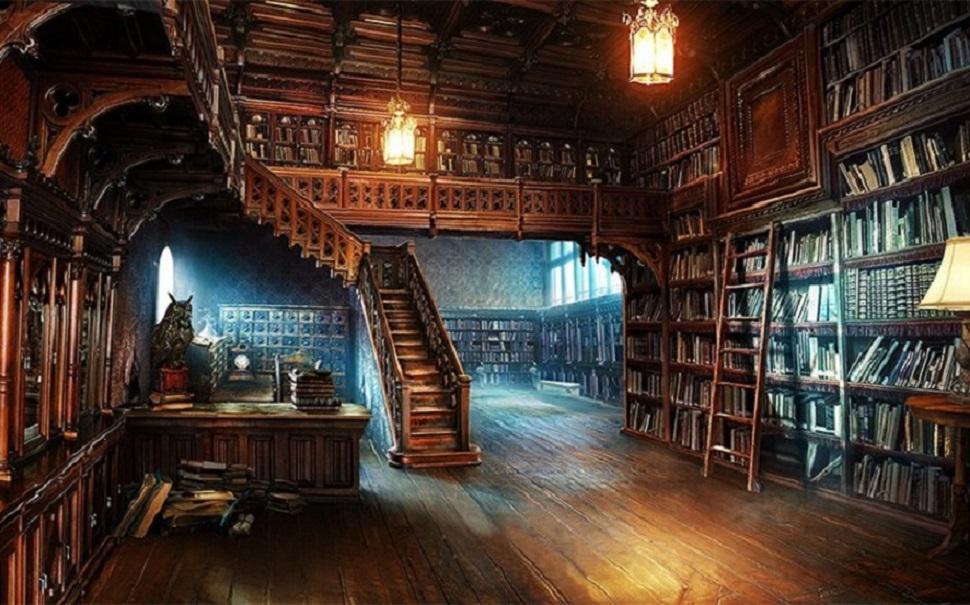 Το μυστήριο της Βιβλιοθήκης
