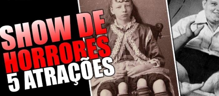 5 CRIANÇAS DO SHOW DE HORRORES