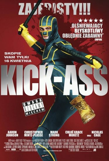 Kick-Ass (2010) PL.BRRip.XviD-GR4PE | Lektor PL
