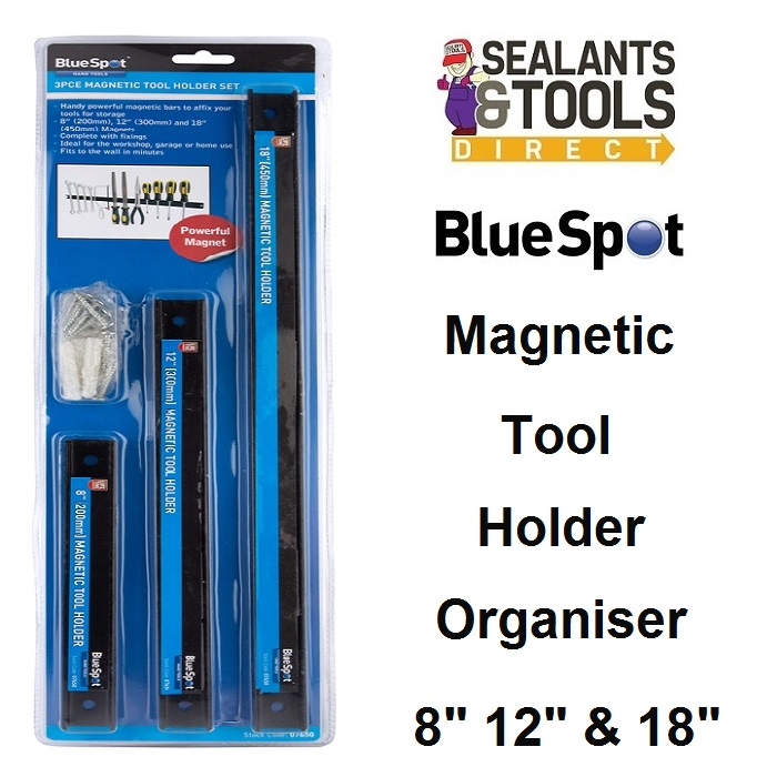 Blue Spot Magnetic Tool Screwdriver Holder Organiser 07650