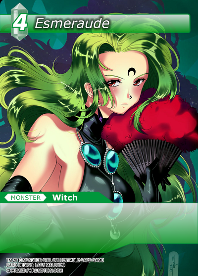 Monster Girl Collectible Card Profiles: Villainesses! - Page 2 Esmeraude