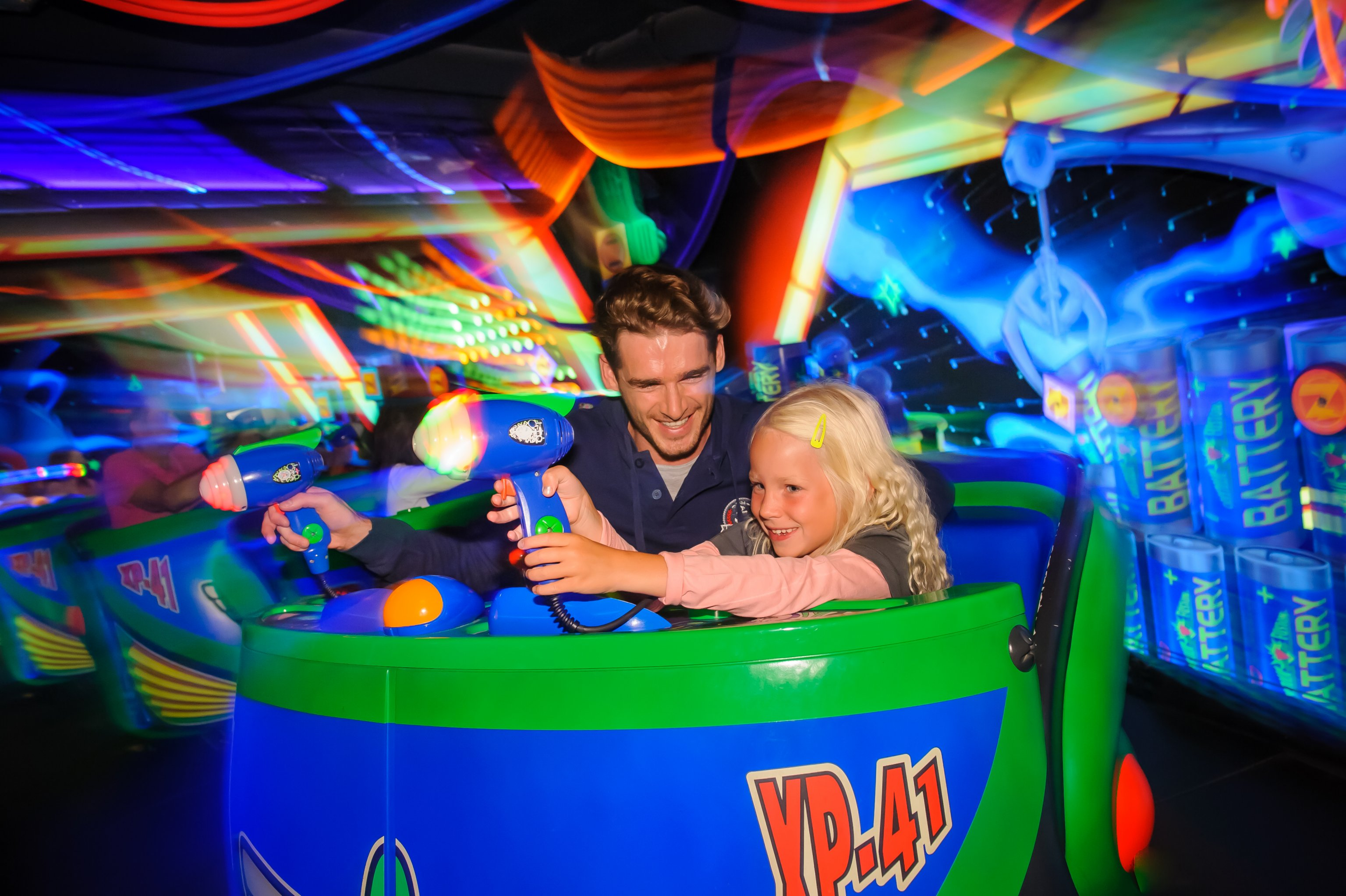Buzz Lightyear Blast at Disneyland Paris