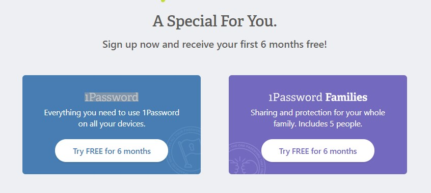 1Password, Password Manager - Free License