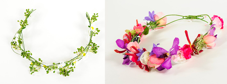 5 daisy headbands 2 florist flower crown workshop