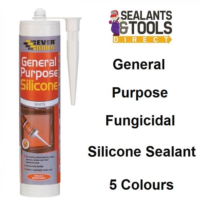 Everbuild General Purpose Silicone Sealant C3 tube