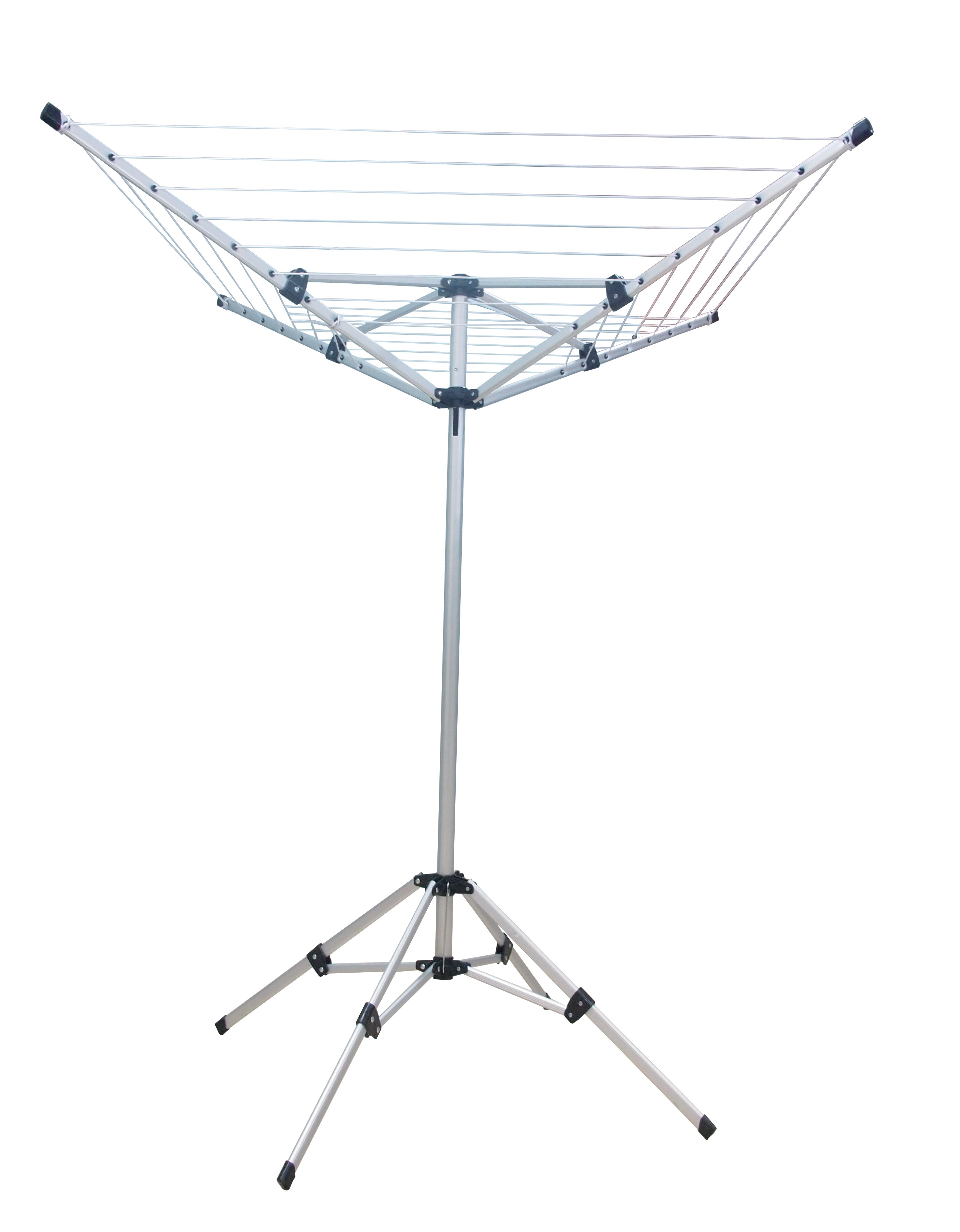 Outwell lightweight aluminium rotary clothes airer air separator