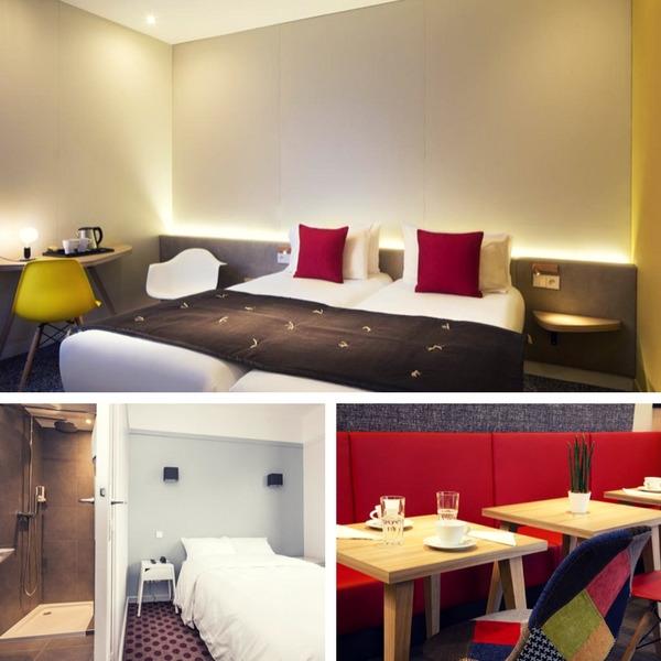 Mejores hoteles baratos en París - conpasaporte.com - Hotel Auguste