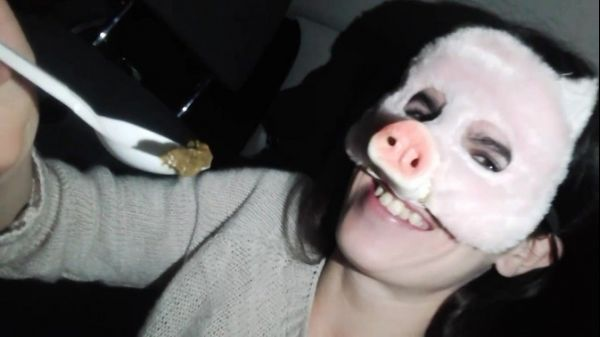 Scat Amateur Teens Real Feeding - Extreme Scat Feeding Teen Girl Beauty Peggy Slave Amateur Party