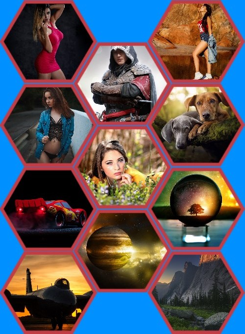 Wallpapers Mix  Pack 713