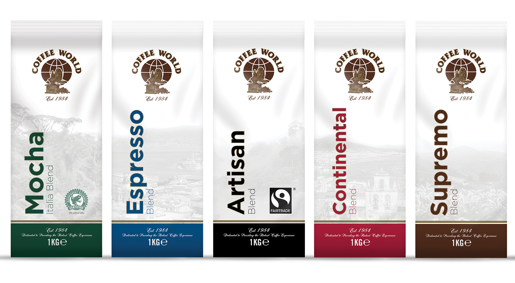 Coffee World Espresso Blends