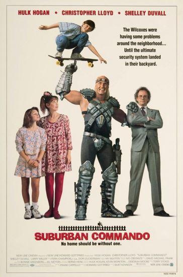 Kosmita z przedmieścia / Suburban Commando (1991) PL.HDTV.XviD-GR4PE | Lektor PL