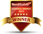 Travel Gay Asia2013 Audience Awards5 starshield