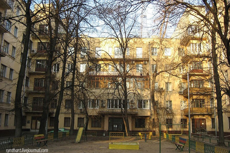 Дом-коммуна на Лестева