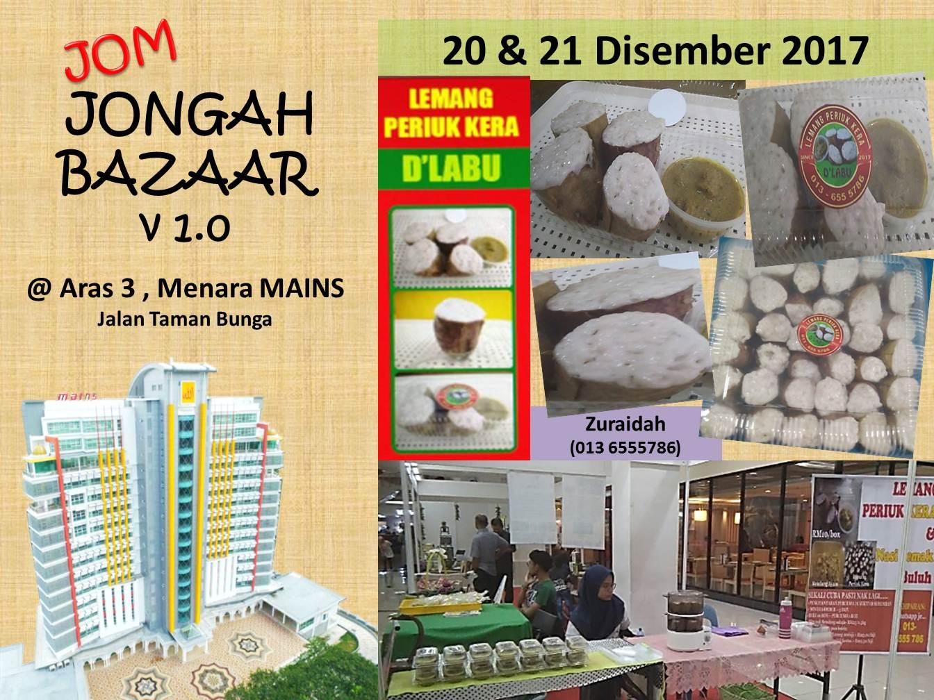 Jom Jongah Bazaar, Aras 3 Menara MAINS